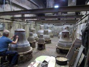 Vorbereitung Glockenguss