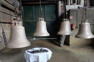 Glocken zur Abnahme